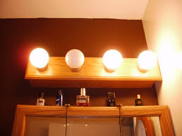 bathroom light medicine cabinets with lights and outlet