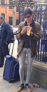 Guys Wearing Skinny Jeans 19 Things Men Over 30 Should Never Wear Walmart Humor Fashion