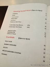 martini bar menu food for thought 186 the bar at marini u0027s on 57 u2022 sassy