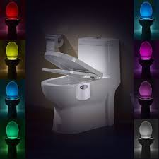toilet light lumiparty led sensor motion toilet light activated glow toilet