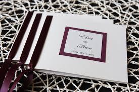 wedding program ideas diy wedding program2 uniquely yours wedding invitation wedding program