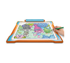 Light Up Drafting Table by Trolls Light Up Tracing Pad Crayola