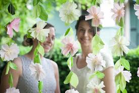 wedding backdrop garland make a flower garland wedding backdrop lia griffith
