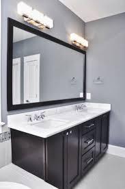 creative idea bathroom mirror light fixtures nice design on