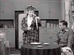 lucille ball and ricky ricardo the saxophone ricky desi arnaz reacts to lucy turning the