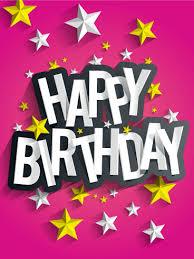 white and yellow stars birthday card birthday u0026 greeting cards