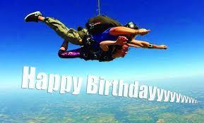 image gallery skydiving birthday
