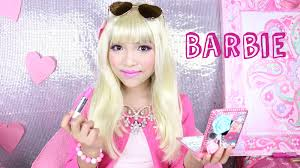 Halloween Barbie Makeup by How To Look Like Barbie Youtube