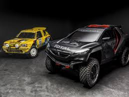 car peugeot 2015 peugeot 2008 dkr dakar car will compete with 2wd video