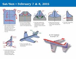 paper airplane fold a day 2015 day to day calendar kyong lee
