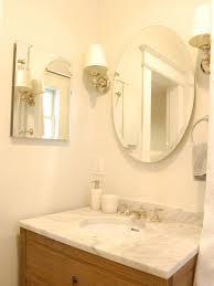Bathroom Sconces Restoration Hardware Marble Top Bathroom Vanity Transitional Bathroom Niche Interiors