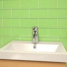 house green subway tiles design green subway tiles bathroom