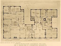1915 print 850 park avenue apartments new york rouse l a goldstone