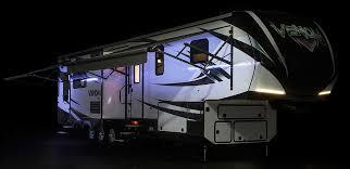 Rv Awning Led Lights Venom V3911tk Luxury Fifth Wheel Toy Hauler K Z Rv