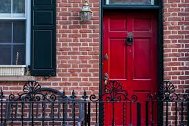 the best paint colors for front doors of brick homes hunker