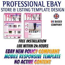 pink theme ebay description templates 39 99 ebay listing