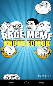 Picture Editor Meme - meme rage photo editor