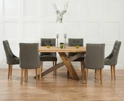 Contemporary Kitchen Table Sets by Kitchen Magnificent Dining Table And Fabric Chairs Ridley Oak