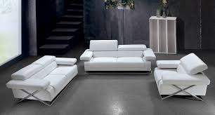 Leather Sofa Store Modern White Leather Sofa Furniture Store The Home Redesign