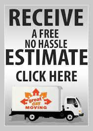 Moving Company Quotes Estimates by Great Day Moving