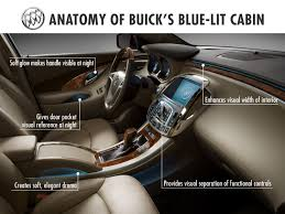 buick ambient lighting warms cabins with cool tech