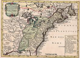 United States East Coast Map by 1740 U0027s Pennsylvania Maps