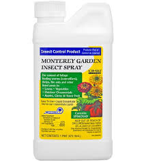garden insect spray spinosad by monterey planet natural