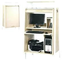 bureau informatique fermé bureau ferme pour ordinateur petit bureau ordinateur meuble pour