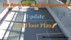 the musical bus conversion update u0026 floor plan episode 11