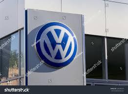 volkswagen service logo prague czech republic october 1 volkswagen stock photo 324598253