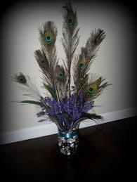 Peacock Centerpieces Peacock Centerpiece Wedding Ideas Pinterest Peacocks