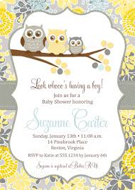 baby shower invitations at party city owl baby shower invitations diy printable baby boy shower