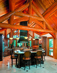 western red cedar for a log home in montana