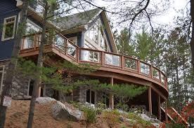 garden fly modern backyard home decor featuring curved wooden