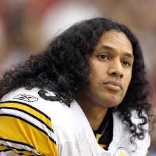 troy polamalu haircut was nice gesture from steelers safety