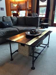 Wooden Coffee Table Plans Diy by 278 Best Homemade Desks Images On Pinterest Pipe Furniture Wood