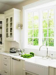 Cafe Kitchen Curtains Curtains Over Sink Modern And Cafe For Regarding Flawless Window