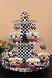 decoration cupcake anniversaire achetez en gros voitures cupcake stand en ligne à des grossistes