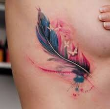 30 fabulous feather tattoos for only the most discerning of eyes