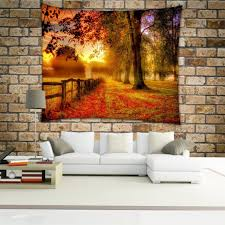 forest tree mandala tapestry 3d hippie wall hanging tapestries
