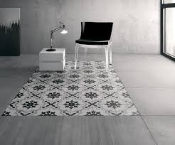 Black And White Laminate Flooring Cementina Black White The Tile Depot
