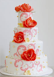 top 14 spring peony wedding cake design u2013 unique cheap u0026 easy