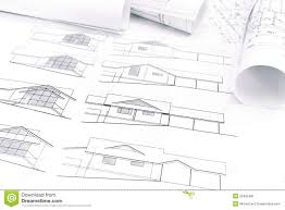 architect u0027s workspace house plans stock photos images u0026 pictures