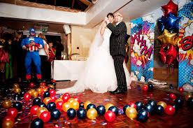 superhero wedding table decorations superhero wedding inspiration popsugar tech