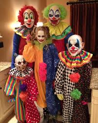halloween clown background a family of clowns for halloween imgur