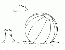 beach ball coloring page charming brmcdigitaldownloads com