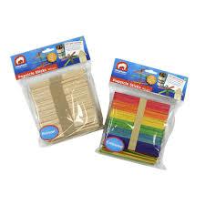 where can i buy lollipop sticks elc popsicle sticks 160 pack officeworks