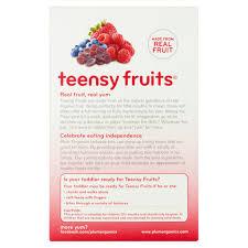 plum organics tots teensy fruits berry soft real fruit snacks 35
