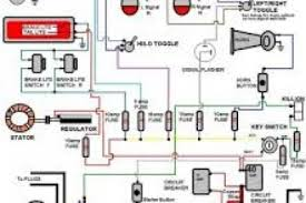 simple harley wiring diagram for motorcycles wiring diagram