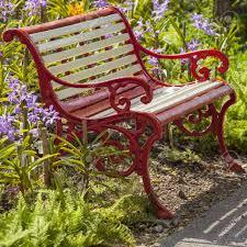 Metal Garden Chair Metal Garden Chair In The Garden Stock Photo Picture And Royalty